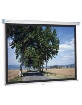 Pantalla manual 180x180 Slimscreen