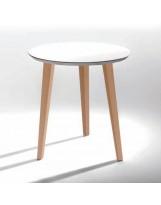 Mesa de madera de 3 patas