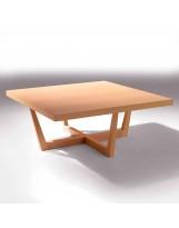 Mesa de diseño de madera X