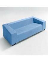 Sofá de diseño tapizado