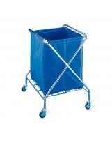 Carro recolector plegable con saco