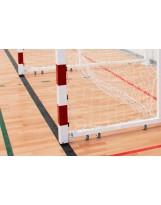 Porterías plegables a pared fútbol sala o balonmano