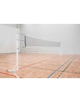 Juego de postes de vóleibol portátiles