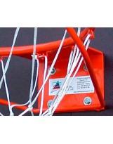 Aro de baloncesto modelo escolar reforzado