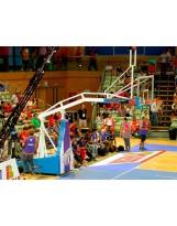 Juego de canastas alta competicion ACB