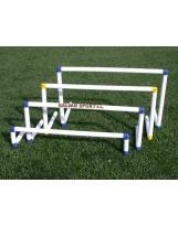 Conjunto de 5 vallas de entrenamiento PVC