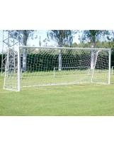 Porterías de fútbol 7 en aluminio móviles con base