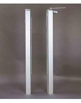 Postes de tenis en aluminio cuadrado