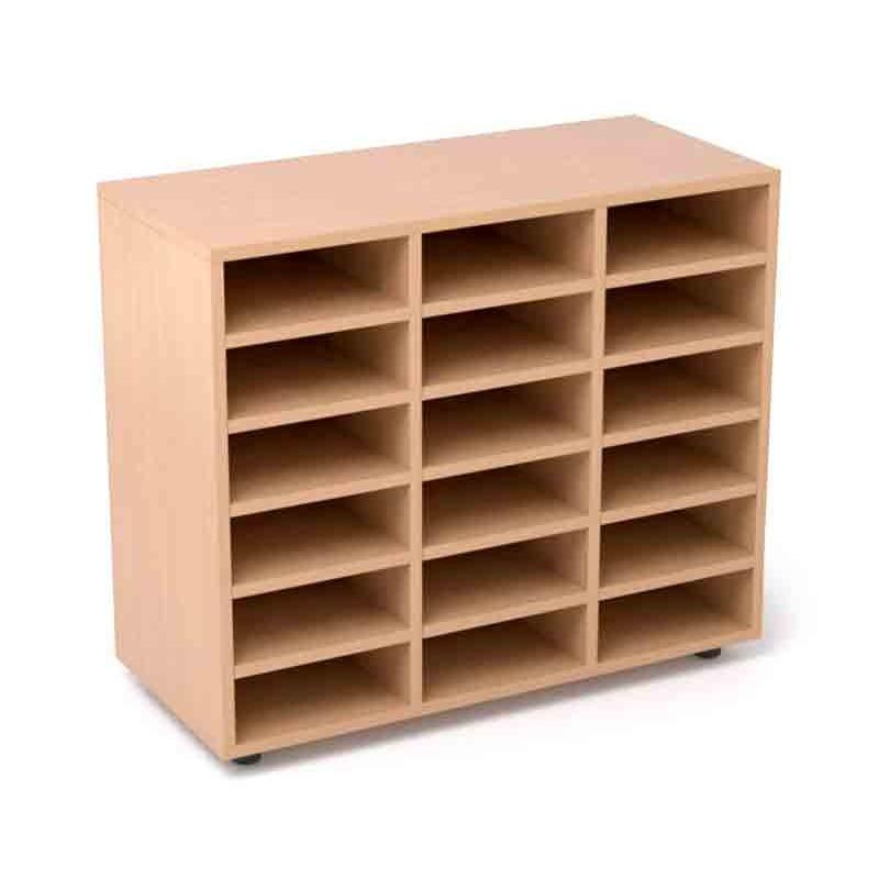 Armarios y estantes para escuelas infantiles sointec - Estantes para armarios empotrados ...