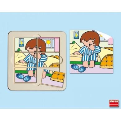 """Puzzle 6 piezas """"Zaro se despierta"""""""