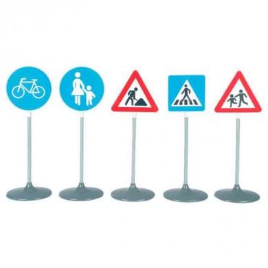 Juego educativo señales de tráfico 5 piezas