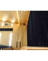 Cortinas de telón para salas de actos