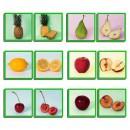 Juego didáctico las frutas y sus aromas