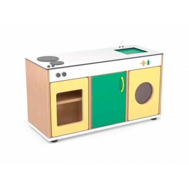 Cocina de madera para ni os sointec proyectos for Cocina infantil madera