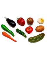 Identifica las verduras