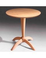 Mesa de madera de patas de araña