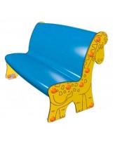 Banco infantil jirafa