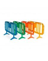 Valla de polietileno 4 colores