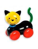 Gato con ruedas de plástico