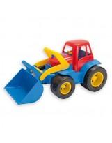 Tractor de colores de juguete