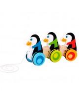 Pingüinos con ruedas