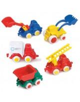 Surtido de 36 mini vehículos de construcción