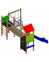 Sistema de juego infantil Kirolak