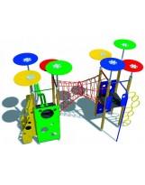 Sistema de juego torres con tubo