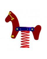 Muelle balancín caballo