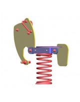 Muelle balancín elefante