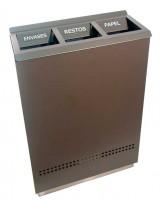Papelera de reciclaje Ecologic 3