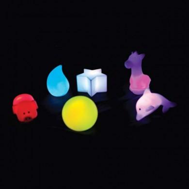 Figuras luminosas 6 piezas