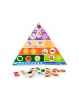 Pirámide de alimentos 41 piezas