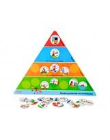Pirámide de actividades h 46 cm