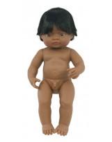 Muñeco niño latinoamericano
