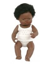 Muñeca niña africana vestida