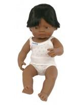 Muñeco niño latinoamericano vestido