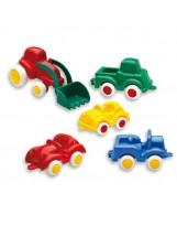 Surtido 30 coches de plástico de 4 colores