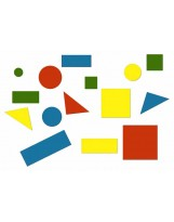 Juego de conceptos bloques lógicos 48 piezas