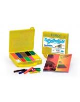 Maletín 200 regletas de colores