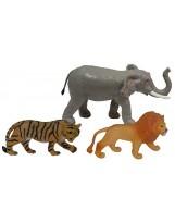 Surtido de 7 figuras de animales de la selva