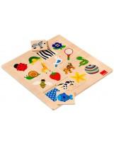 Puzzle conceptual madera 16 piezas