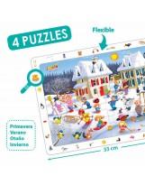 Puzzles cartón 15 piezas observación