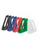10 revisteros unicolor plástico opaco