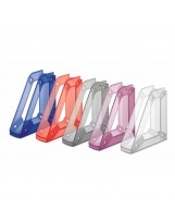 10 revisteros colores plástico fluorescentes
