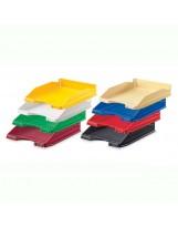 Bandejas plástico colores opacas