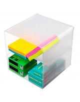 Organizador plástico con divisor