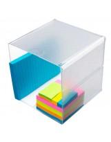 Organizador plástico hueco