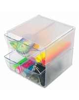 Organizador plástico 4 cajones