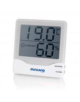 Reloj de temperatura y humedad ambi care